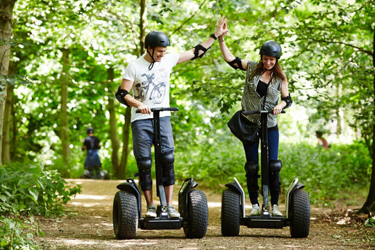 Segway Adventure at Windsor - Bray Lake Watersports on 25th July 2020