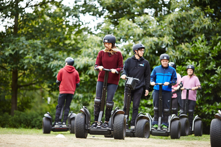 Segway Experience Pooley Country Park