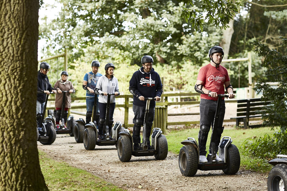 Segway Experience Belhus Woods Country Park