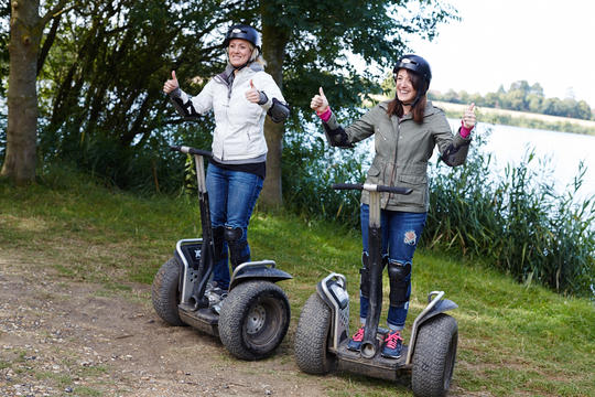 Segway Blast at Windsor - Bray Lake Watersports on 26th January 2018