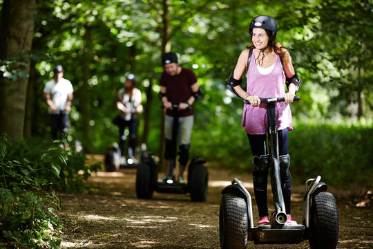 Segway Thrill at Harrogate - Ripley Castle on 22nd July 2019